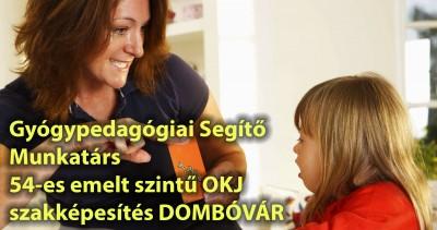 Gyógypedagógiai segítő munkatárs Dombóvár